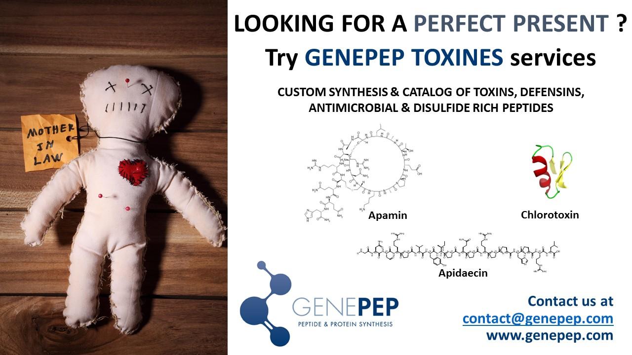 Genepep service des toxines